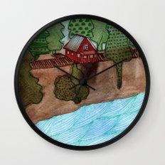Landscapes / Nr. 8 Wall Clock