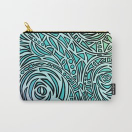 How The River Flows - Faded Carry-All Pouch