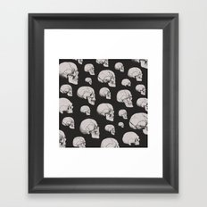 On the Two Principal Forms of Ancient British and Gaulish Skulls Framed Art Print