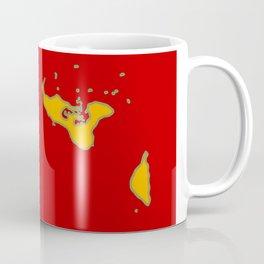 Tonga Flag with Tongan Map Coffee Mug
