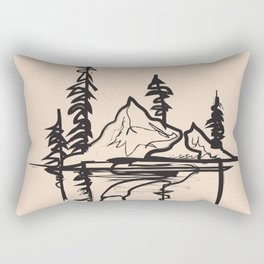 Abstract Landscpe Rectangular Pillow