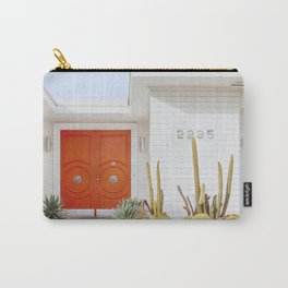 Orange Door in Palm Springs Carry-All Pouch
