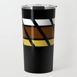 Team Colors...Beige,brown Travel Mug