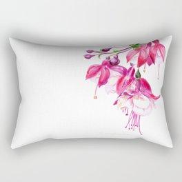 Fuchsia by Teresa Thompson Rectangular Pillow