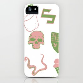 Mal-Mallow-slithering iPhone Case