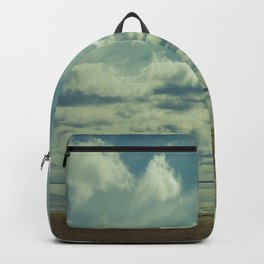 Empty beach Backpack