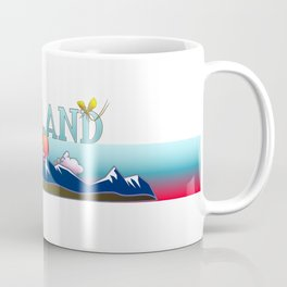 Lappland Sweden  Coffee Mug