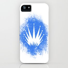 KZ Logo - Blue Abstract Style iPhone Case