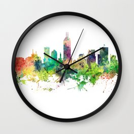Indiana, Indianapolis Skyline SP Wall Clock