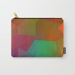 Rainbow Origami Carry-All Pouch