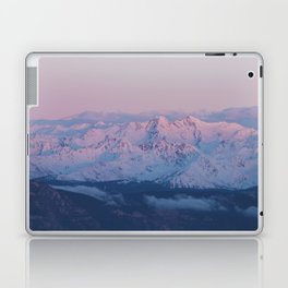 Perfect sunrise in South Tyrol - Landscape and Nature Photography Laptop & iPad Skin