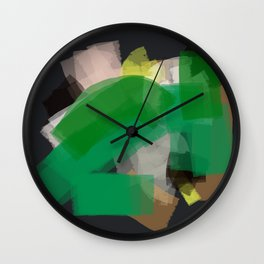 This is not organic Wall Clock