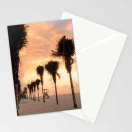 The Palms Greeting the Day Stationery Cards