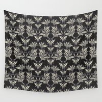 floral pattern Wall Tapestries featuring Floral Pattern by Robin Curtiss