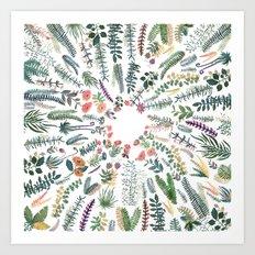 My best Garden Art Print