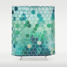 Chemistry Shower Curtain