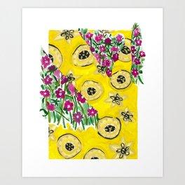 Mustard Seeds Art Print