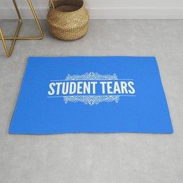 Student Tears Rug