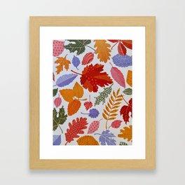 AUTUMN LEAVES,PLEASE Framed Art Print