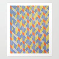 broken Art Prints featuring Broken  by ronnie mcneil