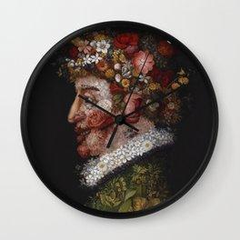 Guiseppe Arcimboldo - La Primavera (Spring) Wall Clock