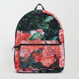 Psychedelic summer florals Backpack