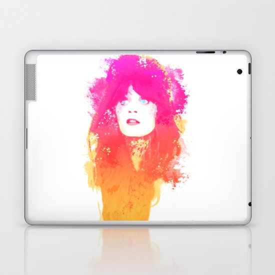 Zooey Deschanel Laptop & iPad Skin