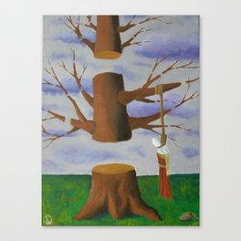 judas Canvas Print