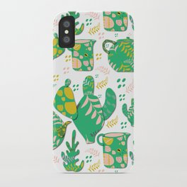 Romance of the teapot iPhone Case