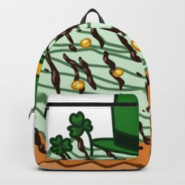 Dessert - Cupcake - St.Patrick Backpack