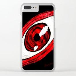 Alucard eye Clear iPhone Case