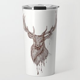 Heart of Deer Travel Mug