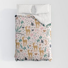 Cute Fawn Comforters