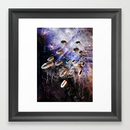 16 bullets? Framed Art Print