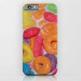 Fruity Cereal iPhone Case