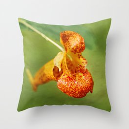 Spotted Touch Me Not Throw Pillow