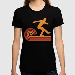 Retro Style Figure Skater Vintage Figure Skating T-shirt