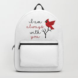 I am always with you Backpack