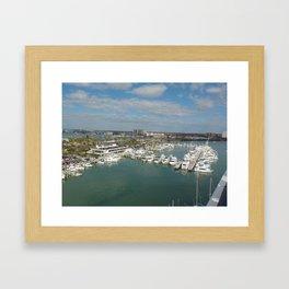 Clearwater Beach,Fl Framed Art Print