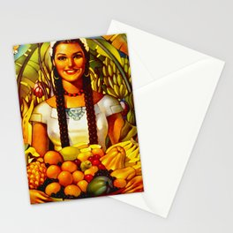 Vintage Bountiful Mexico Travel Stationery Cards