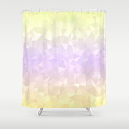 Pastel Ombre 3 Shower Curtain