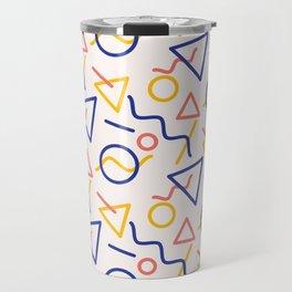 Oh man, I hope you like shapes Travel Mug