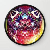 kafka Wall Clocks featuring franz kafka - by stoneRage
