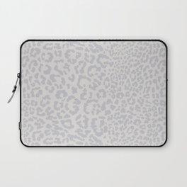 Snow Leopard Print Laptop Sleeve