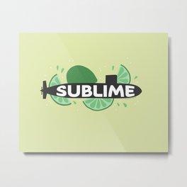 Sublime Metal Print