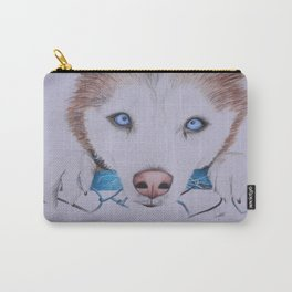 Husky Siberian Carry-All Pouch