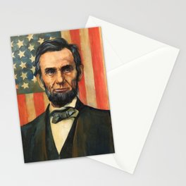 Abe Lincoln Stationery Cards