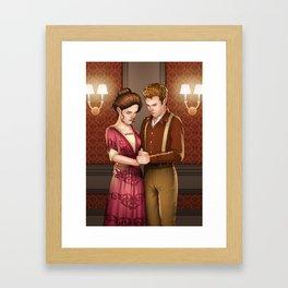 Edwardian Fitzsimmons Framed Art Print