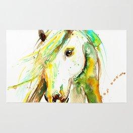 WATERCOLOR HORSE Rug