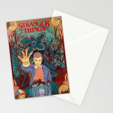 Strange Things lately Stationery Cards